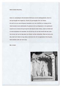 Brief aan Titus Karsten