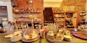 Bar van restaurant Burgerzaken