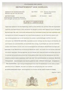 Brief van Bureau Bijzondere Opdrachten (pagina 1)
