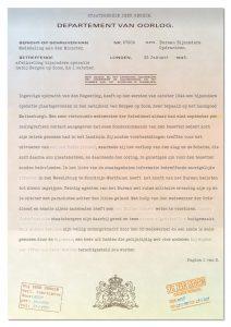 Ontcijferde brief van Bureau Bijzondere Opdrachten (pagina 1)