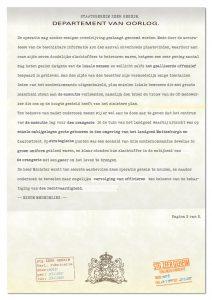 Brief van Bureau Bijzondere Opdrachten (pagina 2)